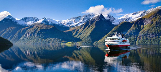 Hurtigruten – Norwegische Fjorde ab 770€