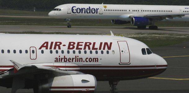 Air Berlin & Condor streichen Freigetränke in Europa